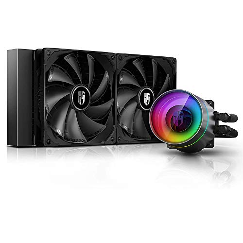 DEEP COOL Castle 280EX AIO Liquid CPU Cooler,...