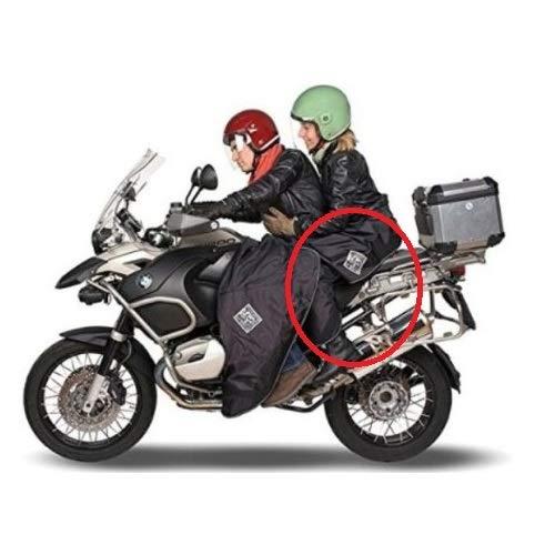 Compatible con Honda XL 125V Varadero Cubierta DE Pasajero Moto Tucano Urbano...