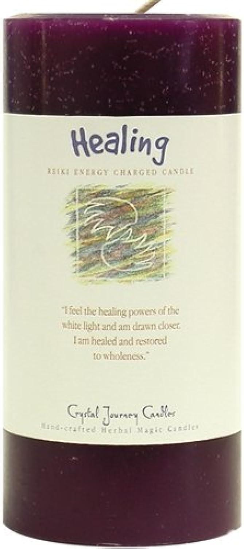 compra limitada 6 6 6 x 3  cristal Journey Magic de hierbas Reiki cargada vela, la curación  Hay más marcas de productos de alta calidad.