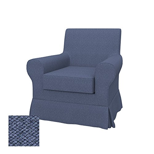 Soferia Bezug fur IKEA EKTORP JENNYLUND Sessel, Stoff Nordic Denim