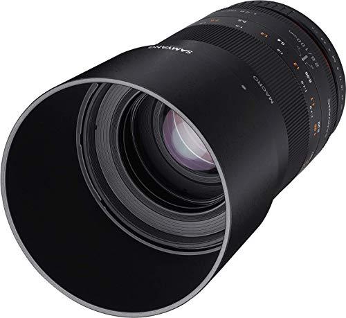 Samyang SAM100SONYA - Objetivo fotográfico, 100 mm
