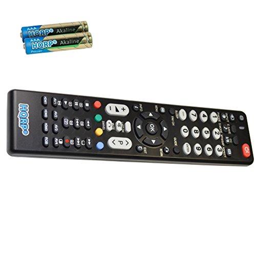 HQRP Remote Control Compatible with Hitachi 42HDF52 42HDM12 42HDM70 42HDS69 42HDT51 LCD LED HD TV Smart 1080p 3D Ultra 4K Plasma