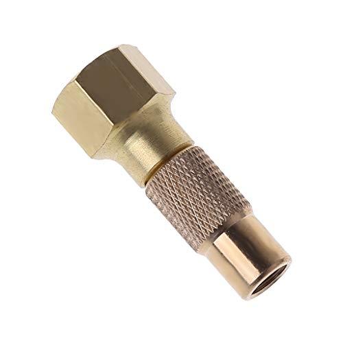 NAIXUE Reifenluftfutter Hochleistungsschraube auf Reifenluftfutter für Reifenfüller Manometer Kompressor Zubehör Twist-on Chucks