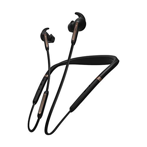 Jabra Elite 65e auriculares estéreo neckband inalámbricos con Bluetooth® 5.0, ANC y Alexa integrada, negro y cobre