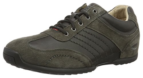 camel active Herren Space 12 Sneakers, Grau (Charcoal 31), 42.5 EU