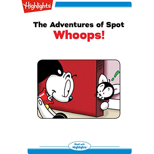The Adventures of Spot: Whoops copertina