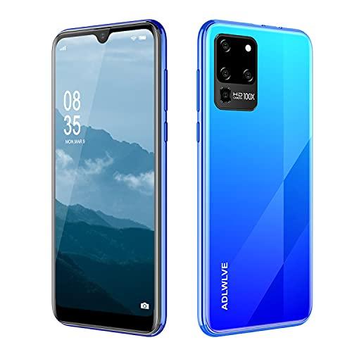 4G Smartphone Offerta del Giorno, Android 9.0 Cellulari Offerte con 6.3 Pollici HD+ Schermo,3GB RAM/32GB ROM,8MP Fotocamera Cellulari e Smartphone 4600mAh Dual SIM Telefono Cellulare (blu)