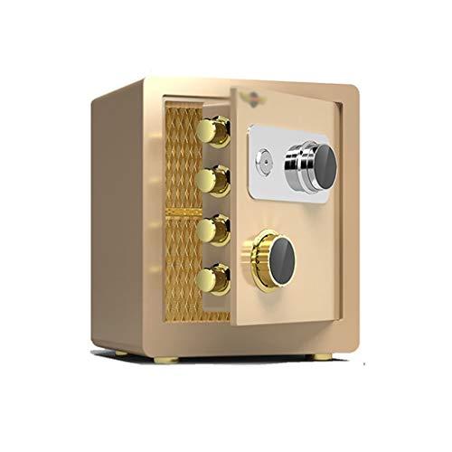 Sicherheit Safe Sicheres Mechanisches Passwort, 40 Cm Eingebettet Feuerfeste Wasserdichte Ganzstahl-Diebstahlsicherung Unsichtbarer Tresor In Der Wand In Der Garderobe (Farbe: Gold) Sicherheitswerkban