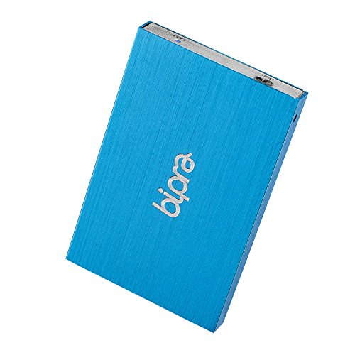 Bipra 1TB 1000 GB USB 3.0 2.5 inch Mac Edition Portable External Hard Drive - Blue - Mac OS Extended (Journaled)