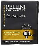Pellini Caffè - Café Molido para máquina - Espresso Gusto Bar N. 3 Gran Aroma 500 g