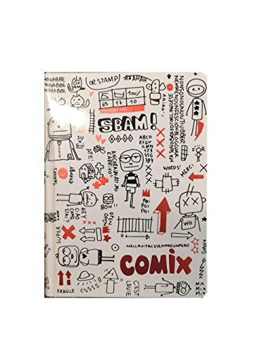 Diario Scuola Agenda Comix Special Mini Bianco 2020/2021 Datata 16 Mesi 16x11 cm + Penna colorata omaggio