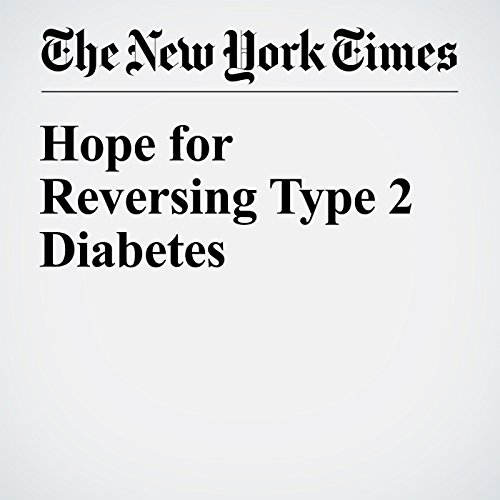Hope for Reversing Type 2 Diabetes audiobook cover art