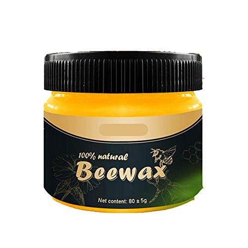 4PCS Beeswax Polish, Natural Wood Seasoning Bees Wax Furniture Cleaner Care Waterproof Abrasion-resistant For And Protection-4