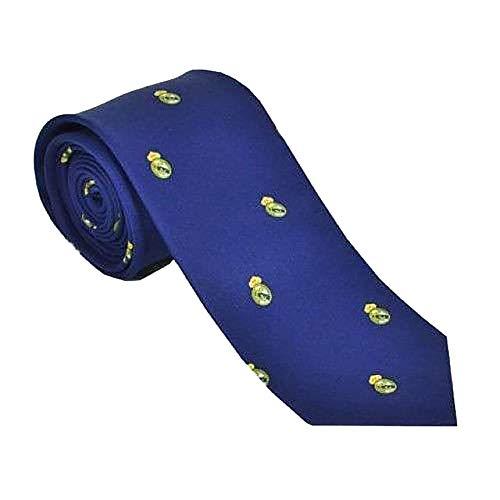 Real Madrid CF - Cravate officielle (Taille unique) (Bleu)