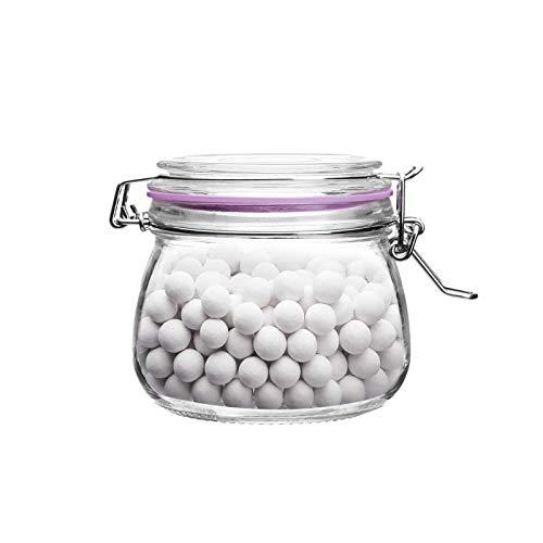 500 g de cerámica para hornear granos en tarro de cristal –...