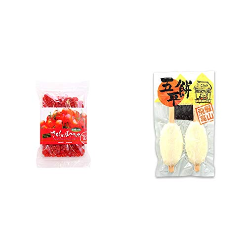 [2点セット] 収穫の朝 さくらんぼグラッセ ラム酒風味(180g)・飛騨高山 木や 五平餅(2本入)