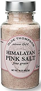 Olde Thompson Shaker Refill - Himalayan Pink Fine Salt 16oz - Fine Grain, High Mineral Content, Use to refill Salt Shakers...