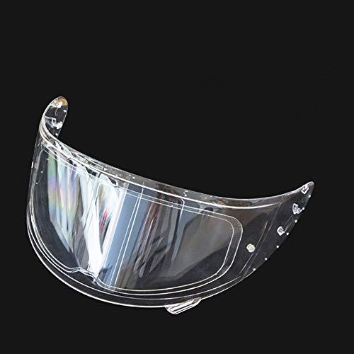 SZMYLED Helm Anti-Beschlag-Folie, Vollhelm Linse Antibeschlag Aufkleber Universal Motorrad Helm Visier Aufkleber