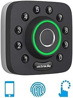 Ultraloq U-Bolt Pro Bluetooth Enabled Fingerprint and Keypad Smart Deadbolt | 6-in-1 Keyless Entry | Smartphone App for iOS and Android | Fingerprint ID | Anti-peep Code | Auto Unlock & Auto Lock