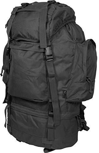 Mil-Tec Ranger Backpack 75 Litre Pes Black 75 L
