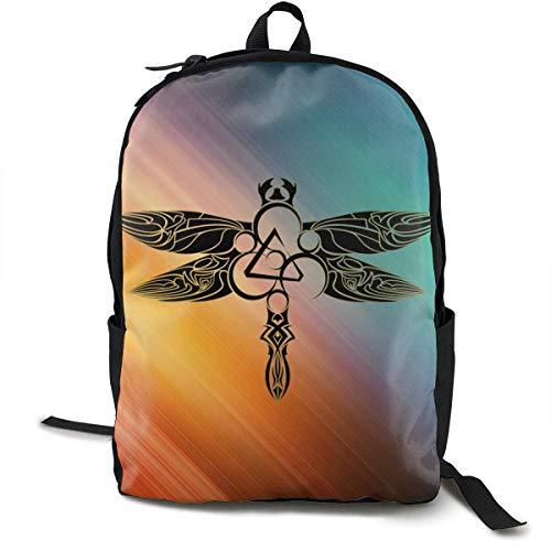 Mochila Mochila de Viaje Coheed and Cambria Backpack Campus School Bag Casual Backpack Gym Travel Hiking Canvas Backpack