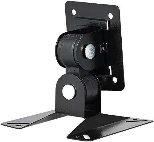 EVA-Y Soporte de Pared para TV de 14 a 24 Pulgadas, 180 Grados, inclinación y Giro y Ajuste de rotación, Soporte máximo VESA 100 x 100 mm, Acero Duradero para Plasma LED LCD