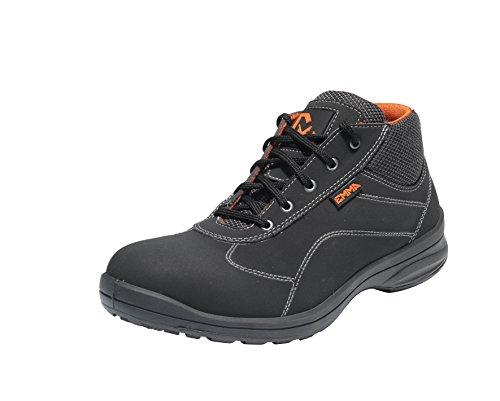 Emma Sicherheit Schuhe – Schwartz HI S3 Damen Sicherheit Schuh - Anouk - ESD/AGO, 35 EU / 2 UK
