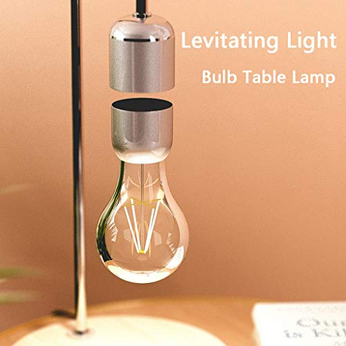 ToDIDAF Levitating Light, Floating Lamp, LED Light Bulb, Table Lamp, Anti-gravity Lamp, Magnetic Lamp, for Room/Home/Office/Desk Decoration, Creative Gift for Children/Family/Friends
