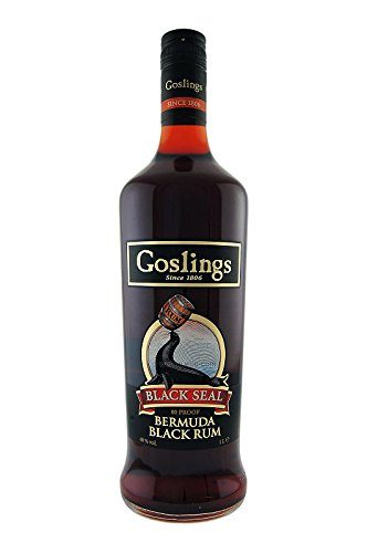Gosling's Black Seal Rum, 1 Liter