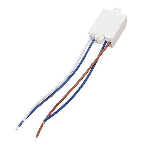 MASUNN AC 220V 50Hz LED con Luce del Suono Interruttore di Energia Sensore Vocale Lampada di Controllo Acustico