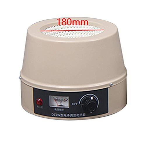 Fayelong 100ml-20000ml Elektrisch Heizmantel Temperatur Einstellbar Max. 380 Grad Celsius 100-2500W 220V Für Rundkolben (2000ml)