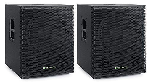 Pronomic SA-18 SUB Aktiv Subwoofer 2x Set - 18