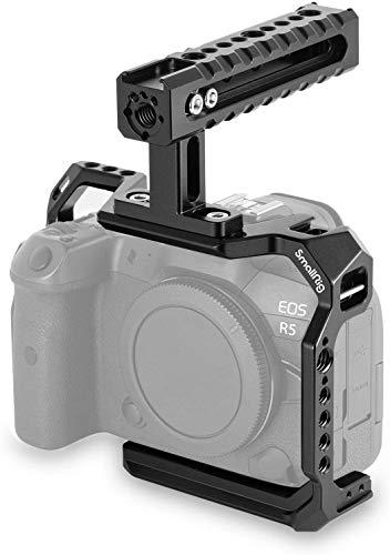 SMALLRIG Kamera Cage Kit inklusive Cgae und Top Handle für Canon EOS R5 R6 - 3185