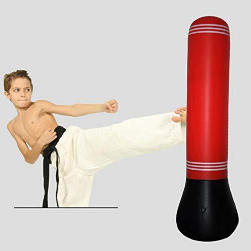 XER 63 Zoll Punchenturm Aufblasbarer Stanzsack Kostenlos Stehen Box Boxen Spaß Trainieren Tasche mit Kostenlos Pumpe Übung Stress Linderung