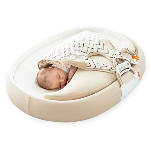 Fantastic Deal! KOKONANNY The Baby Sleep Aid, Co-Sleeping Nest, Lounger, Portable Sleeping Pod, Bass...