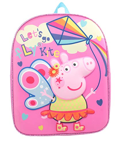 Peppa Pig Festival of Fun Fly a Kite Pink 3D Eva Backpack