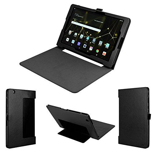 wisers LG G Pad X II 10.1UK750, G Pad III 10.110,1Zoll Tablet Case/Cover, schwarz