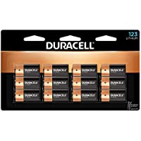 12-Count Duracell 123 High Power Lithium Batteries