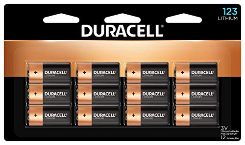 Duracell 123 High Power Lithium Batteries - 12 Count