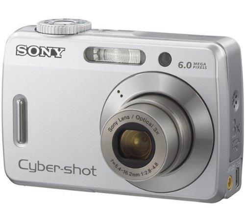 Sony Cyber-Shot DSC-S500 Digitalkamera (6 Megapixel)