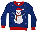 TREAT THAT KIDDO: Ensure your boy doesn't feel left out of the ugly sweater fun! This holiday sweater for kids comes in fun festive prints everyone will be gawking at. Choose between cool Santa, Rudolph, and Snowman prints and make your kiddo smile. ...