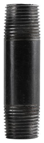 LDR 302 12X10 Galvanized Pipe Nipple, Black, 1/2-Inch X 10-Inch by LDR Industries