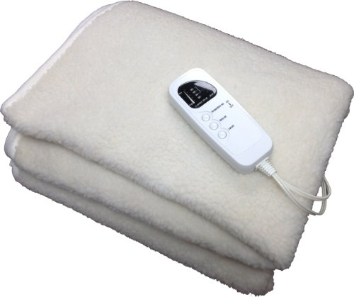 Deluxe Fleece Massage Table Warmer, w/ 12 Foot Power Cord. For Use with Massage Tables Only, Do Not Use as a Bed Blanket Warmer