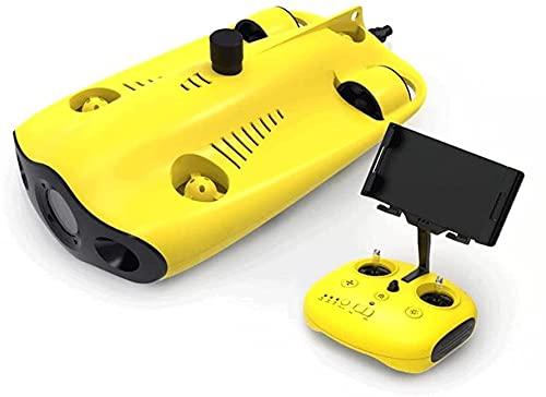 WANGAR Con cámara de 4K ultra-alta definición y DIRIGIÓ Llenar la luz 100m Professional Subwater Drone / Control remoto Equipo de monitoreo submarino / Máquina de inspección de patrulla / Finder de pe