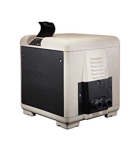 Pentair 461059 Master Temp 125K BTU Natural Gas Swimming Pool Heater