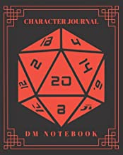Character Journal DM Notebook: DnD Notebook With 50 Character Sheets and 100 Mixed Pages (Lined, Graph, Hex & Blank)For Role Playing Fantasy Games ... Track 5e Gameplay, Plans, Spells & More