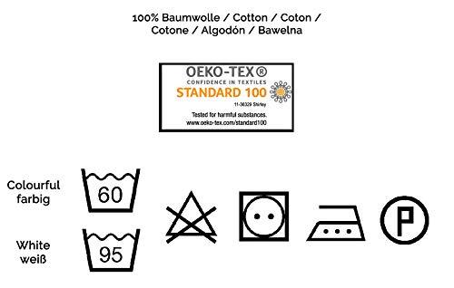 Zollner 5 muselinas para bebé de algodón, 70×70 cm, certificado Oekotex