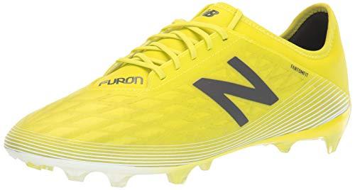 New Balance Men's Furon V5 Destroy Firm Ground Soccer Shoe, Sulphur/Phantom/White, 12