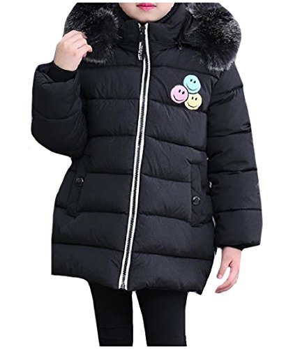 Ruhua Baby Grils Boys Lightweight Hooded Outerwear Solid Warm Coat