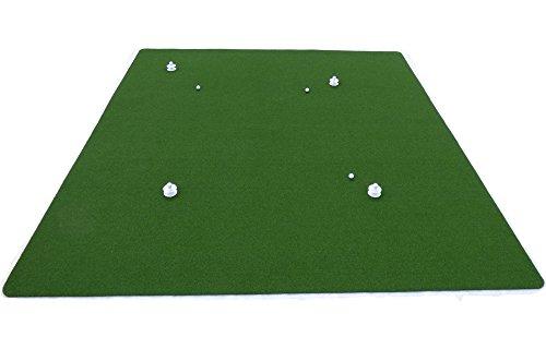 Teaching-Pro Putting Green (4m x 4m) | hochwertiger Kunstrasen aus Polyamid | Putting-Matte für Indoor und Outdoor